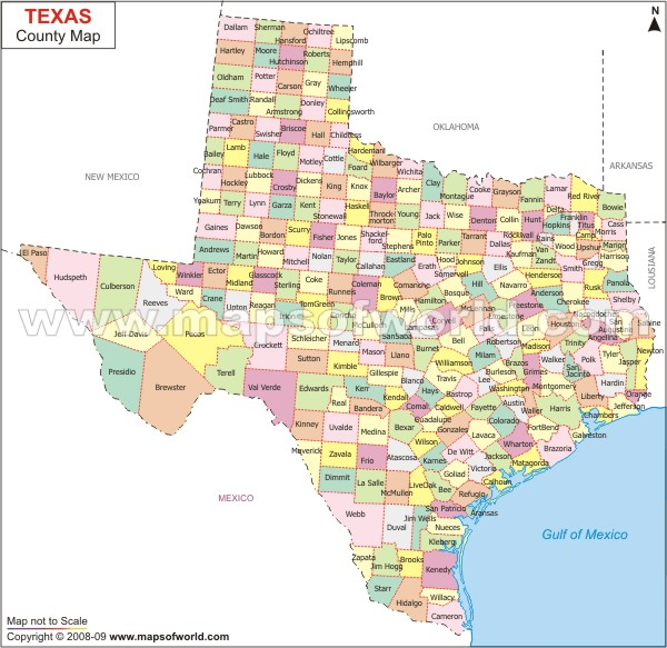 Texas County Map Bestofpicture.com - images: \x3cb\x3etexas county\x3c ...